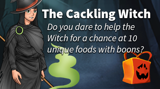 The Cackling Witch needs your help, are you brave enough?